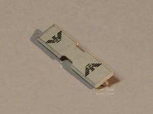 Linguetta per cerniere zip