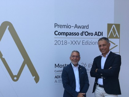 "DINAMICA was awarded at the ""Compasso D'Oro ADI 2018″"